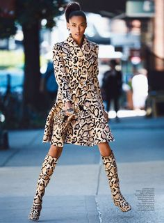 Anais Mali by Patrick Demarchelier for Lucky September 2014
