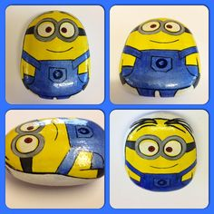 Minion paperweight pebble!