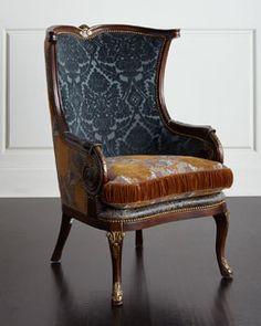 H84BQ Massoud Dominique Chair