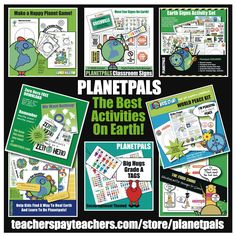 Browse over 120 educational resources created by PLANETPALS in the official Teachers Pay Teachers store. Primary Science, Elementary Science, Public School, Back To School, Classroom Signs, Classroom Ideas, Fun Signs, Science Lessons, Teaching Resources
