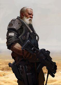 Old Man by Alexander Ovchinnikov