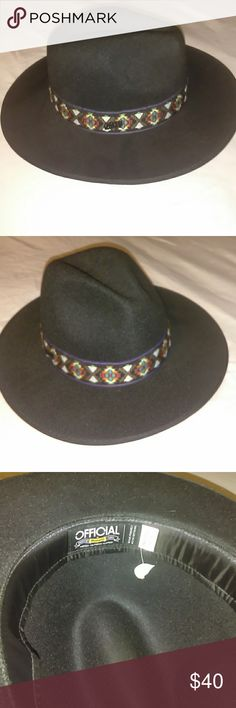 42e15eb50b9 Official headwear Official headwear. A Jimmy Hendrix replica. It s in black  felt. The