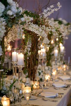 Feasting table design by Botanica  by Botanica #wedding #weddingflowers #weddingdecor #Botanica