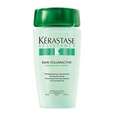 Has your fine hair gone flat? I've researched the best products on the market that add volume to fine hair. I have fine hair, too, so this list is extra personal.: Overall Best Shampoo for Fine Hair: Kerastase Bain Volumactive Cool Haircuts, Cool Hairstyles, Hairdos, Shampoo For Fine Hair, Fly Away Hair, Good Shampoo And Conditioner, Hair Fixing, Texturizing Spray, Best Shampoos