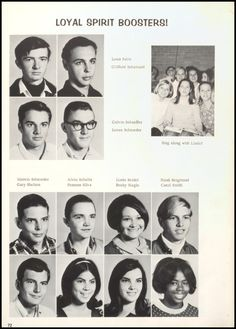 1968 Taylor High School Yearbook via Classmates.com