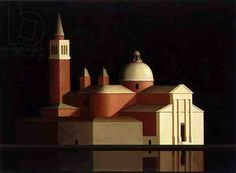 San Giorgio, Venice, 1997 (oil on canvas) Renny Tait