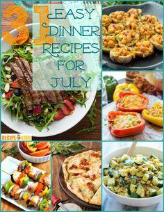 31 Easy Dinner Recipes for July | RecipeLion.com