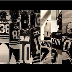introducing your Chicago Blackhawk line-up! Blackhawks Hockey, Hockey Teams, Chicago Blackhawks, Chicago Bears, Hockey Players, Hockey Baby, Ice Hockey, My Kind Of Town, Home Team