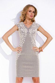 Платье Morena, молоко