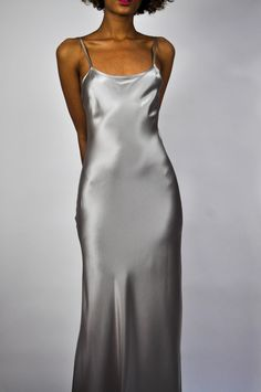 Voz Liquid Silk Slip Dress