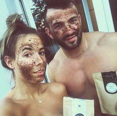 MARK Face And Body - natural cosmetics & coffee scrub Beard Wax, Shower Together, Coffee Scrub, Save Water, Natural Cosmetics, Organic Oil, Body Butter, Face And Body, Scrubs