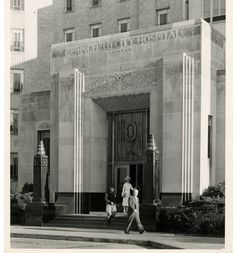 Entrance to City Hospital, Springfield City, Mound Builders, National Road, City Hospital, Clark County, Take Me Home, Cincinnati, North America, Art Deco