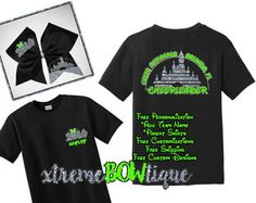 Disney Summit Shirts. Is your cheer team going to the Summit this year? - design your custom cheer wear. Free Shipping, Free Personalization & Customization. Let us Design for you, send us a custom order request.  Add a Bow for an additional $10. Shirt Prices start at 25.00 Customize with your team colors! -The colors of Summit on the front and the Mickey head on the back can both be changed. *Refer to the color chart.* If you want a color other than the gold pictured, please leave your s...