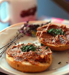Al's kitchen: Pasta z zielonej soczewicy i pieczonej papryki