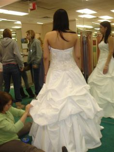 french bustle wedding dress