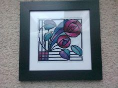 Art deco, cross stitch