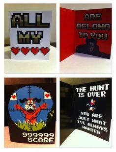 nerdy gamer valentines!