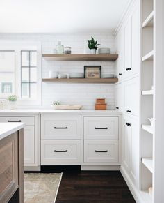 To improve the interior of your home, you may want to consider doing a kitchen remodeling project. This is the room in your home where the family tends to spend the most time together. If you have not upgraded your kitchen since you purchased the home,. Home Decor Kitchen, New Kitchen, Home Kitchens, Kitchen Ideas, Closed Kitchen, Pantry Ideas, Modern Kitchens, Design Kitchen, One Wall Kitchen