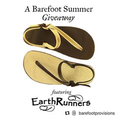 Didn't win our giveaway? Here's another chance to win a pair of sandals!   #Repost @barefootprovisions  A Barefoot Summer #GIVEAWAY - from @earthrunners  _ We've long been fans of Earth Runners and their Eco-Engineered Minimalist Adventure Sandals and they've just released a new feature for our favorite way to stay grounded outdoors.  _ They've completely replaced all the leather footbeds and laces with eco-friendly undyed hemp! Besides being gentler on Mother Earth one of the best reasons…