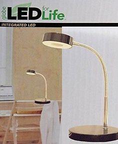 Desk Lamp LED Office Dorm Study School Bedside Bulb Lamps Home Work Modern Li...