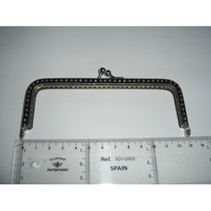 Fecho Metal Prateado Liso Recto 13 cm