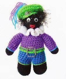 Haakpatroon Zwarte Piet