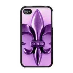 FLEUR DE LIS NECKLACE IN PASTELS IPHONE 4 COVERS by Creative Contribution