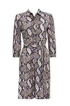 Buy Wallis Ponte Snake Print Shirt Dress from the Next UK online shop Latest Fashion Dresses, Latest Dress, Python Print, Trends, Snake Print, Printed Shirts, Glamour, Shirt Dress, Model