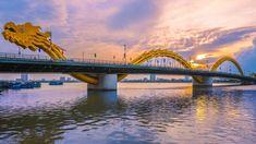 Da Nang, Vietnamese Dong, Sydney Harbour Bridge, Hanoi, High Quality Images, Breathe, Places To Visit, Dragon, Fire