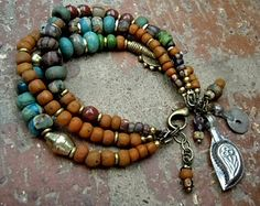 Bohemian Jewelry / Bohemian Bracelet / Gypsy Bracelet / Boho / Multi Strand Bracelet / Ethnic Bracelet / Woman Bracelet / Yoga Bracelet