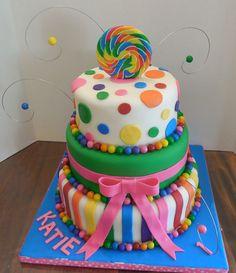 Candyland Candy Land Cake