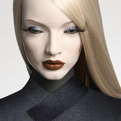 Absolute Cameleon mannequin collection Eyes ref : YB.J6.05.16.F2 Lips ref : B1.R3.F2 Shop window design Shop window display Visual merchandising Shop window mannequin