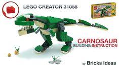 Lego Creator, The Creator, Lego Jurassic Park, Lego Dinosaur, Lego Pokemon, Lego Group, Lego Parts, Lego Models, Lego Projects