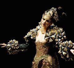 Guo Pei Chinese avant garde haute couture fashion designer