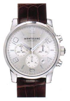 21da61801 Montblanc Timewalker Steel Chronograph Automatic Fancy Watches, Rolex  Watches, Watches For Men, Luxury