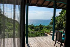 View from my terrace at Four Seasons Seychelles