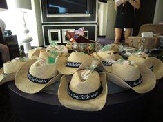 Hi like the ribbon, cowboy hats coool, maybe on my big hats