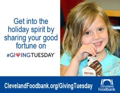 After #BlackFriday and #CyberMonday, be sure to keep in mind #GivingTuesday.  Support the #Cleveland #Foodbank at www.clevelandfoodbank.org/GivingTuesday Keep On, Keep In Mind, Cleveland Food, Giving Tuesday, Good Fortune, Food Bank, Black Friday, Mindfulness, Consciousness