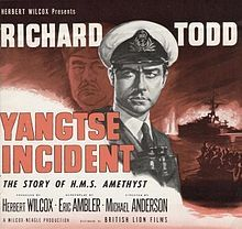 Yangtse Incident: The Story of H. Old Movie Posters, Classic Movie Posters, Film Posters, Vintage Posters, Irish Movies, Old Movies, Movie Theater, Movie Tv, War Film
