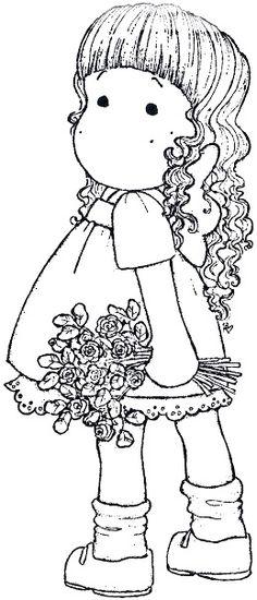 Wedding 2010 - Tilda With Curls