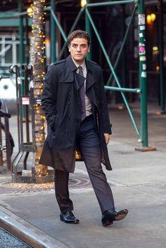 Oscar Isaac, NYC, March 27, 2017