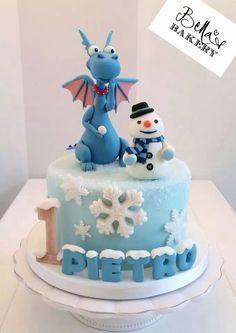 Winter Doc McStuffins cake