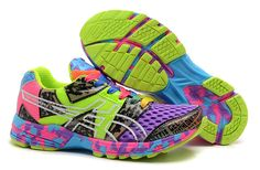 buy online ca478 02f57 Asics Gel Noosa TRI 8 Femmes pourpre Rose Lime Vert Confetti Chalcedony  Pendant Dragon  half off Asics Gel For Sale for Sale