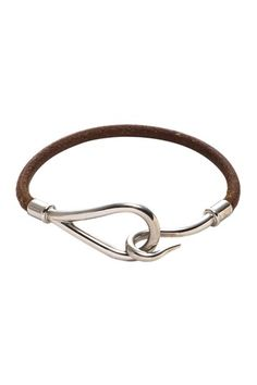 Hermes Leather Jumbo Bracelet