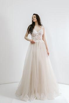 wedding dresses 2018 Noel Collection.MARILENA SS18017