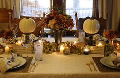 my Thanksgiving tablescape