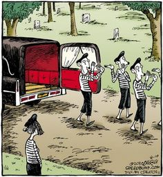 Mime Funeral
