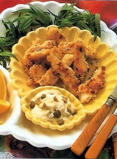 Tiras de Solha...pode visualizar a receita em: http://www.gastronomias.com/receitas/rec3775.htm