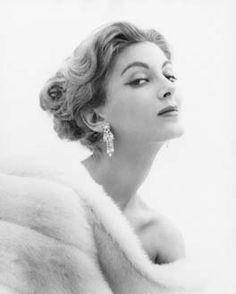 American model, Carmen dell'Orrifice (1950s)
