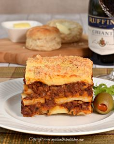 #RethinkBeef Global Recipe Swap Campaign: #Moussaka